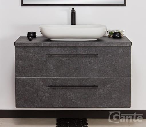 100cm graphite vanity unit ireland