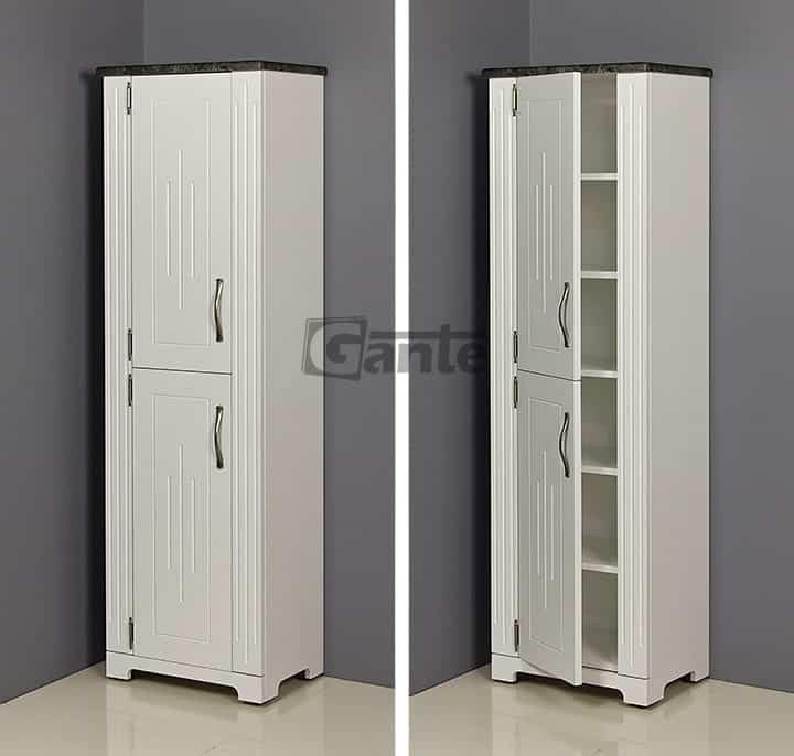 Tall Storage Unit ANT-B-RW (grey top)