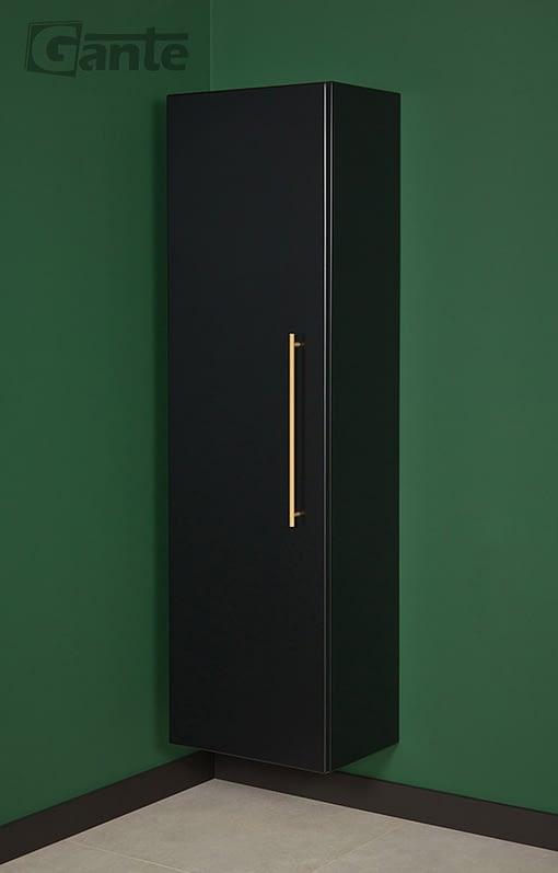 Storage unit black matt