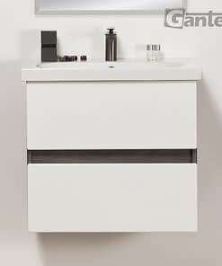 60cm white/grey vanity unit, ireland