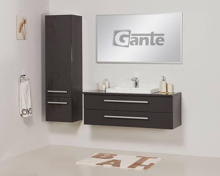 vanity unit in grey 120cm