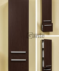 tall storage unit wenge